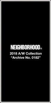 Neighborhood 2018A/W Collection