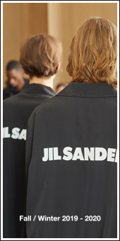 JIL SANDER 2019A/W Collection