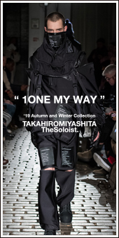 TAKAHIROMIYASHITA The Soloist. 2019A/W Collection