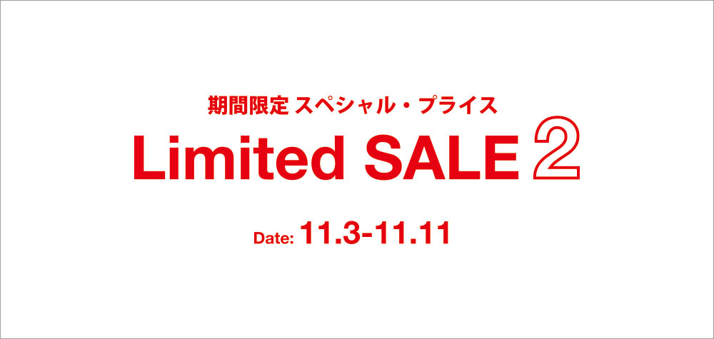 Limited SALE!