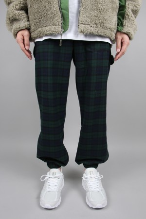 Studio Seven Check Painter Pants/GREEN(70864112)