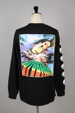 Assid AUTOBAHN LS TEE /BLACK