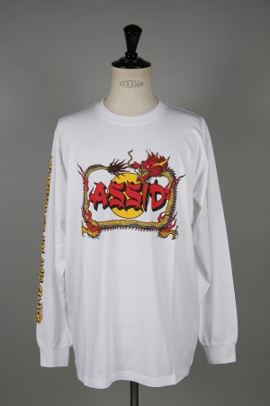 Assid PUFF LS TEE /WHITE