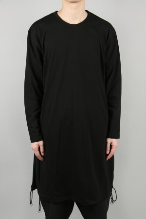 Ground Y A Tied Long Sleeve/Black(GN-T03-040-2S20)