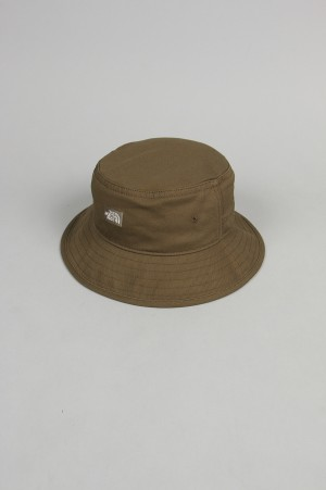 The North Face Purple Label - Men - Cotton Twill Field Hat - Olive (NN8000N)
