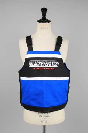 Black Eye Patch MOTOR SPORTS VEST/Black&Blue(BEPSS20TP02)