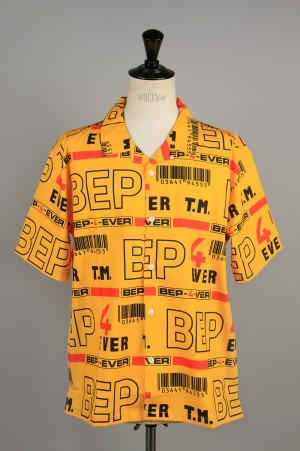 Black Eye Patch 4EVER SETUP S/S SHIRT/Yellow(BEPSS20TP04)