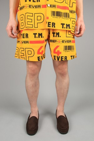 Black Eye Patch 4EVER SHORTS/Yellow(BEPSS20PA08)