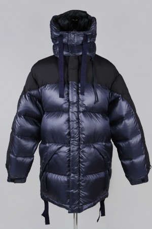 YSTRDY'S TMRRW BUBBLE DOWN COAT - NAVY (YT-JU0301)