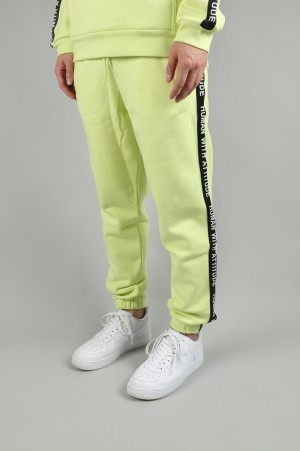 Human With Attitude LINE PANT/ACID YELLOW