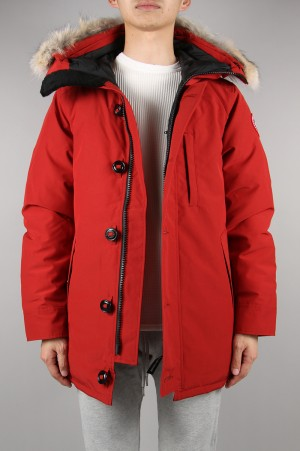 Canada Goose - Men - 【Japan Exclusive】JASPER PARKA - RED MAPLE (3438JM)