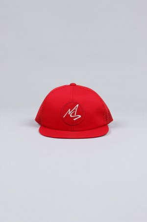 Masses MESH CAP LOGO WHITE / RED