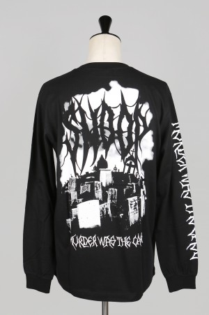 SSS World Corp Graveyard Longsleeve Cotton Tee