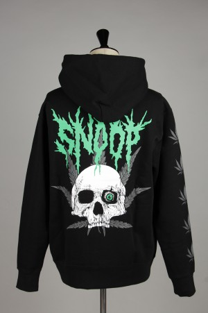 SSS World Corp Weed Skull Sweat Hoodie