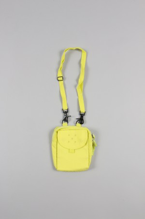 POP TRADING COMPANY PASSPORT POUCH/ELECTRIC YELLOW