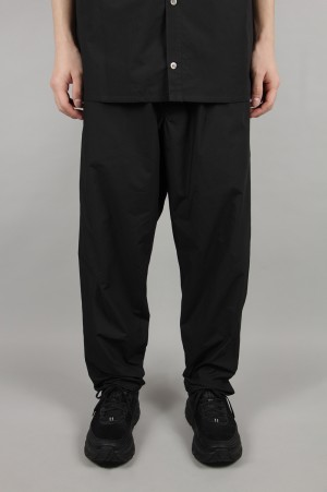 Graphpaper - Men - Typewriter Cook Pants - BLACK (GM191-40020B)