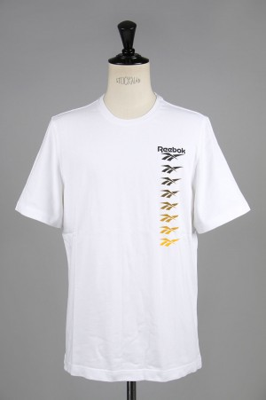Reebok - Men - CL VECTOR GRADATION PRINT T -WHITE- (EB3608)