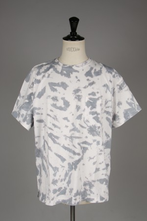 Unused -Men- SHORT SLEEVE TIE DYE T-SHIRT (US1625)