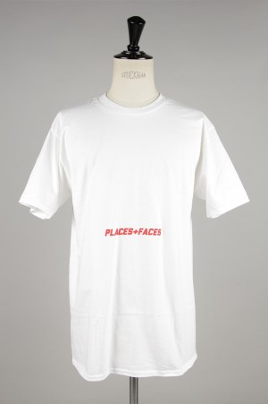 Places+Faces RED LOGO BLLY TEE/WHITE