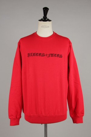 Places+Faces OLD ENGLISH SWEATSHIRT/RED