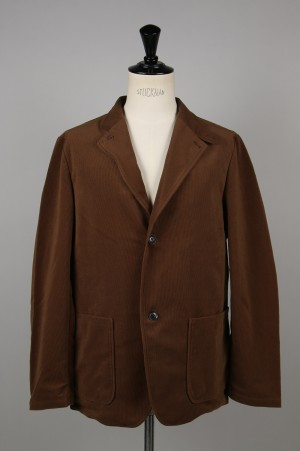 nanamica - Men - CORDUROY CLUB JACKET - BROWN (SUAF946)