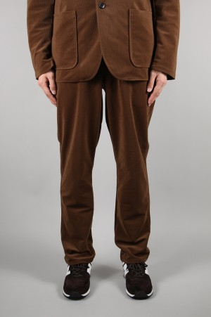 nanamica - Men - CORDUROY EASY PANTS - BROWN (SUCF947)