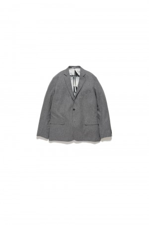 Graphpaper - Men - FUTUR × Graphpaper Canonico Jacket - GRAY (GM194-20701)