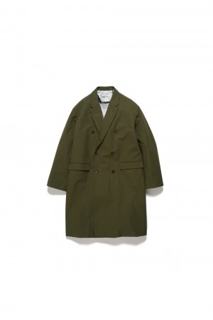 Graphpaper - Men - FUTUR × Graphpaper Etaproof Coat - OLIVE (GM194-10701)