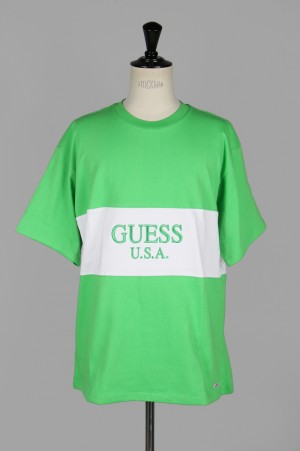Guess Green Label 2 Tone Lime Tee/LIME GREEN(GRSS19-039)