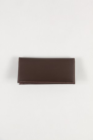 Whitehouse Cox LONG WALLET - HAVANA (S-9697)