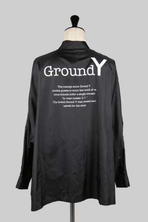Ground Y Logo Dolman Shirt(GA-B10-900-1A19)
