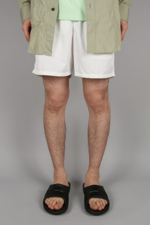 Unused -Men- COLOR SHORTS -WHITE- (UW0755)