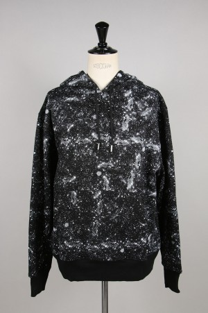 Clot STARS ALL OVER HOODIE / BLACK(CL-A19-0000-033)