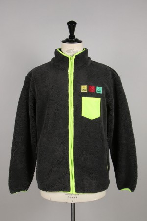 Clot FLEECE JACKET / GREEN(CL-A19-0000-054)