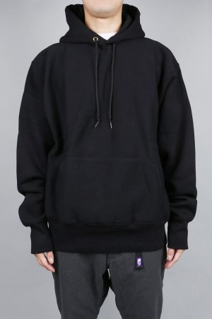 Camber #232 CROSS-KNIT PULLOVER HOODED - BLACK (700059376)