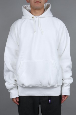 Camber #232 CROSS-KNIT PULLOVER HOODED - WHITE (700059376)