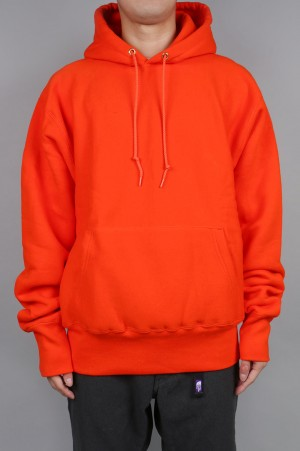 Camber #232 CROSS-KNIT PULLOVER HOODED - ORANGE (700059376)