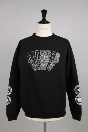 Masses SWEAT CREW / BLACK