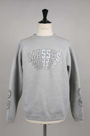 Masses SWEAT CREW / GRAY