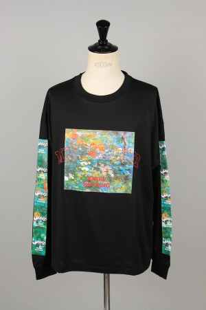 Mind Seeker MONE Long Sleeve Tee / BLACK(MS-20SS-18)