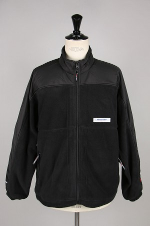 Thisisneverthat POLARTEC Fleece Jacket / Black(TN19FOW007)